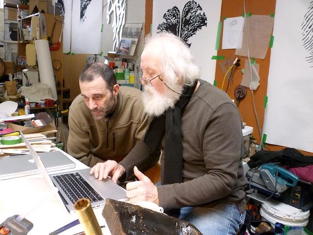 Naissance d'une sculpture-Pierre Leblanc et Rodolphe Duvacher