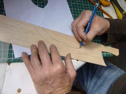 La Naissance d'une sculpture-La fabrication des cires-Le balsa